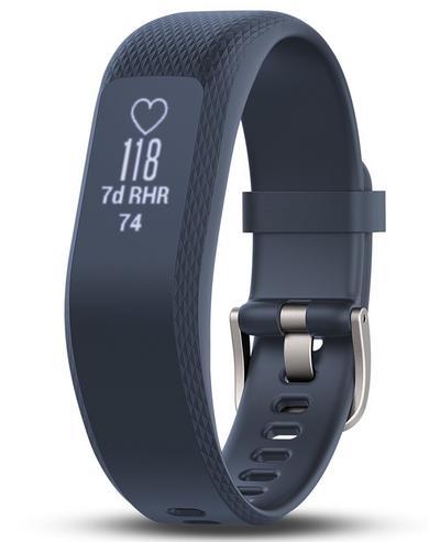 Garmin Vivosmart 3 Fitness Sports Watch|Heart Rate/Activity Tracker|Blue Small Thumbnail 4