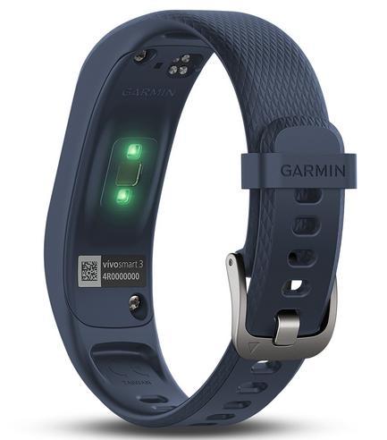Garmin Vivosmart 3 Fitness Sports Watch|Heart Rate/Activity Tracker|Blue Small Thumbnail 5