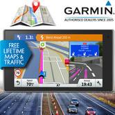 Garmin Driveluxe 50LMT-D|Car GPS SatNav|LIFETIME Europe Maps & Digital Traffic