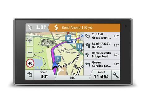 "Garmin Driveluxe 50LMT 5"" GPS SatNav   FREE LIFETIME UK Europe Map Updates+Traffic Thumbnail 2"