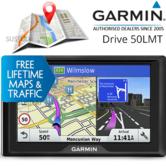 Garmin Drive 50LMT|In-Car 5'' GPS SatNav|LifeTime Maps & Traffic Updates Europe
