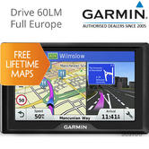 Garmin Drive 60LM|6'' GPS SatNav|FREE Lifetime Map Updates  Europe|Street Maps