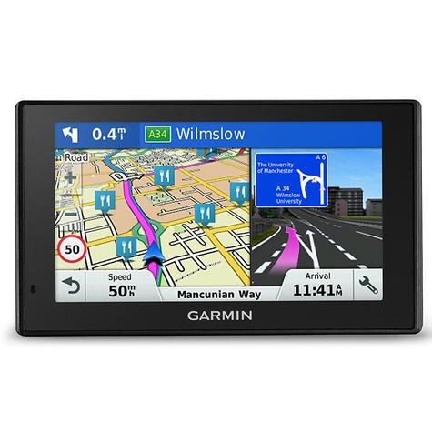 Garmin DriveSmart 60LMT|Car 6'' GPS SatNav|LIFETIME Maps & Traffic|Voice Control Thumbnail 2