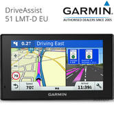 Garmin DriveAssist 51LMT-D|Car GPS SatNav|Europe LIFETIME Maps & Digital Traffic