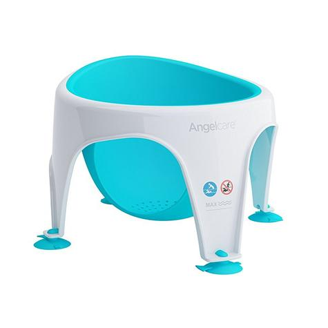 Angelcare Soft-Touch Baby Bath Seat Aqua|Lightweight|TPE Material|12kg Capicity Thumbnail 2