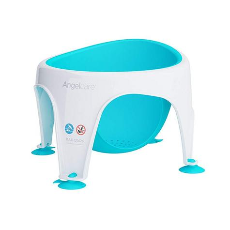 Angelcare Soft-Touch Baby Bath Seat Aqua|Lightweight|TPE Material|12kg Capicity Thumbnail 4