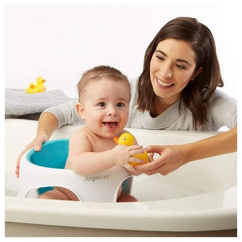 Angelcare Soft-Touch Baby Bath Seat Aqua|Lightweight|TPE Material|12kg Capicity Thumbnail 7