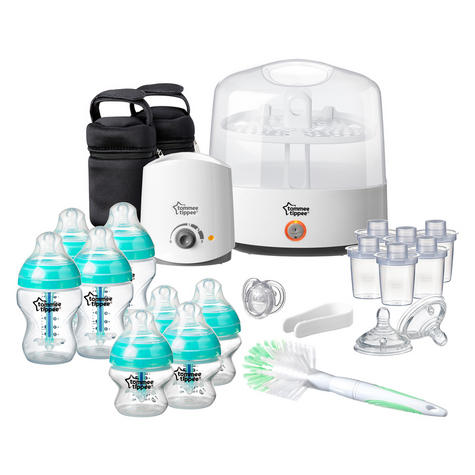 Tommee Tippee Anti-Colic Baby Feeding Set | 23pc Including Electric Steriliser+Bottle Warmer Thumbnail 2