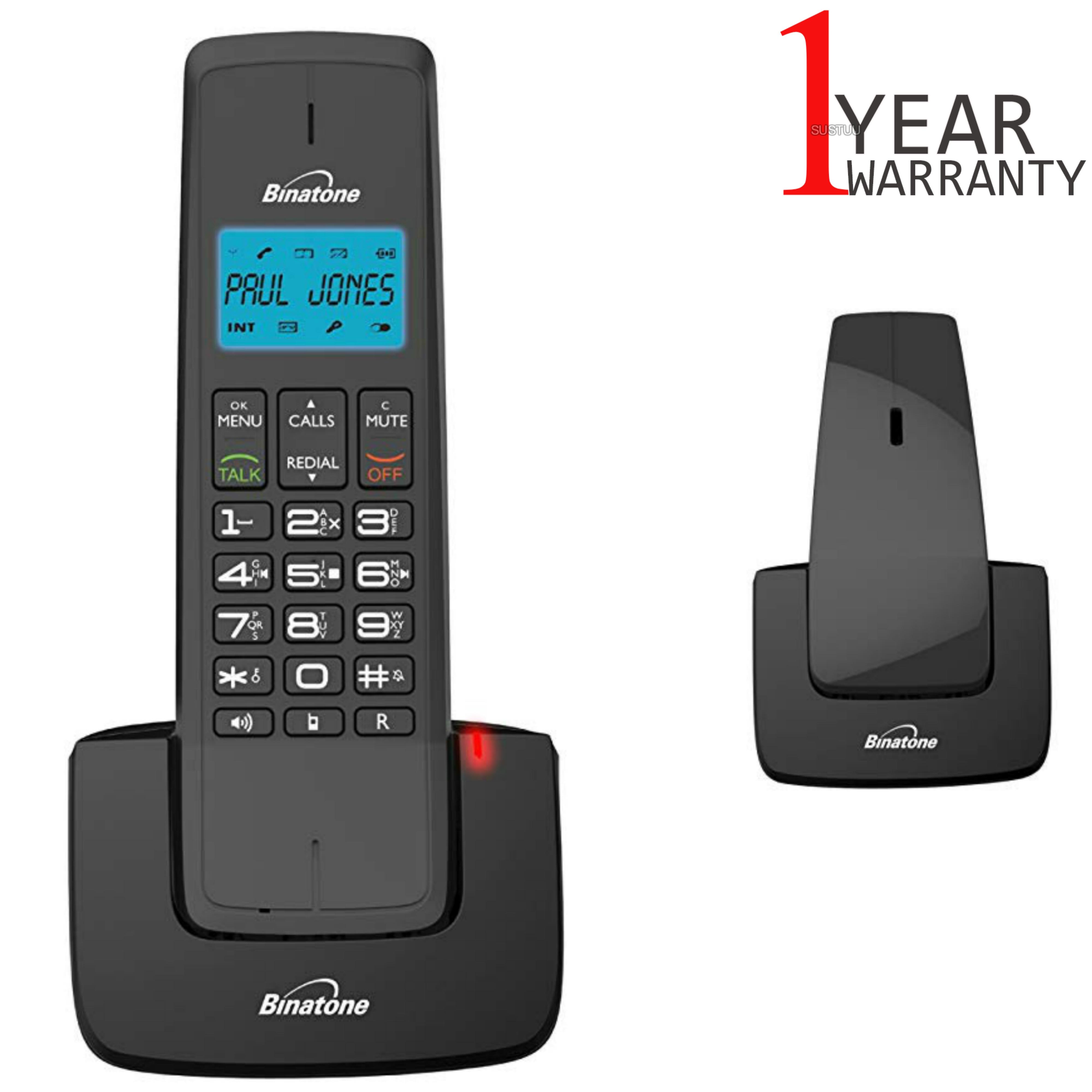 Binatone Designer 2115 Twin DECT Cordless Telephone with Digital ...