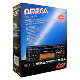 Omega Radio Data System | P.L.L Stereo Autoreverse Car Cassette Player | Bass Treble