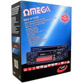 Omega Radio Data System P.L.L Stereo Car Cassette Player | 50W Output | Equalization