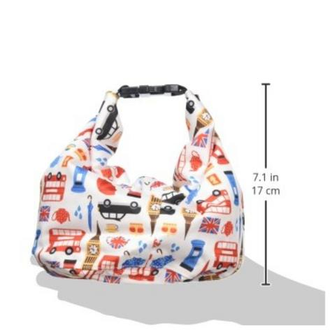 Bambino Mio Wet Nappy Bag Great Britain|Simple Fold|Roll Closure|4 Nappy Holder Thumbnail 6