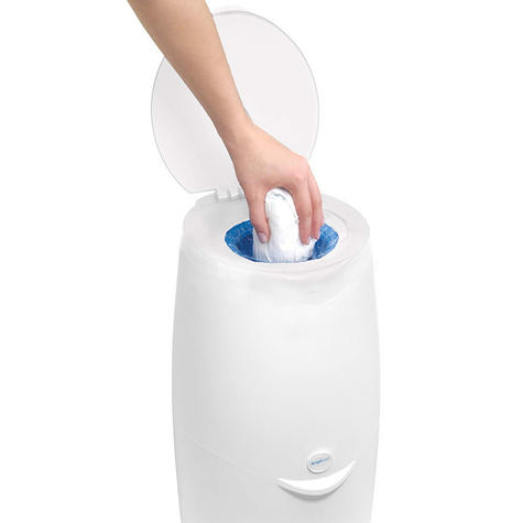 Angelcare Nappy Disposal System|Baby/Kid's Nappies/Diapers Cleaning Bin|White| Thumbnail 4