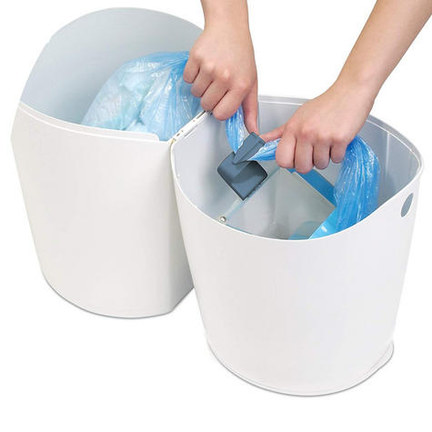Angelcare Nappy Disposal System|Baby/Kid's Nappies/Diapers Cleaning Bin|White| Thumbnail 7