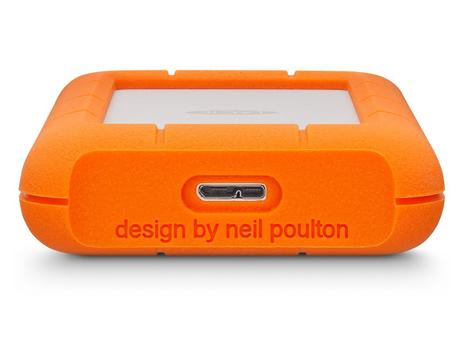 "Lacie Rugged Mini 1TB USB 3.0 2.5"" External Portable Hard Drive 