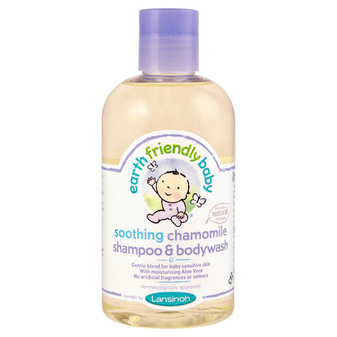 Earth Friendly Baby | Organic Soothing Shampoo & Bodywash | Chamomile | 250ml | +0months Thumbnail 2