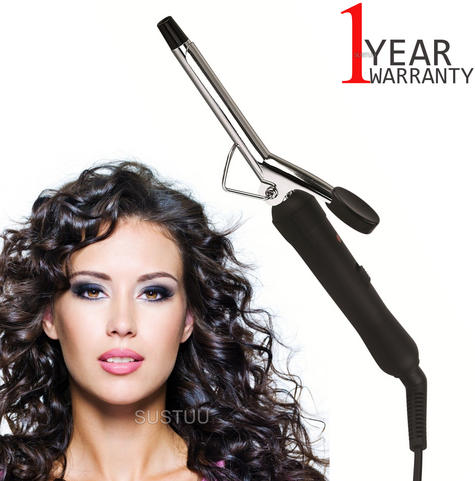 Omega Slimline Hair Curling Tong | 13mm Barrel | Power On/Off Switch | 360° Swivel Cord Thumbnail 1