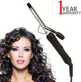 Omega Slimline Hair Curling Tong | 13mm Barrel | Power On/Off Switch | 360° Swivel Cord