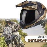 Scorpion ADX-1 Battleflag Helmet|Adventure Flip-Front Motorcycle Unisex|ECE 2205