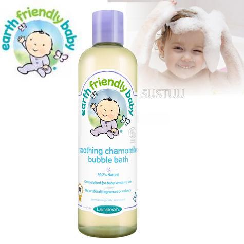 Earth Friendly Baby | Organic Soothing Bubble Bath Bodywash | Chamomile | 300ml | +0 Months Thumbnail 1