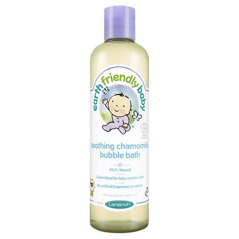 Earth Friendly Baby | Organic Soothing Bubble Bath Bodywash | Chamomile | 300ml | +0 Months Thumbnail 2