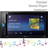 "Pioneer AVH A100DVD 6.2"" Double Din Car Multimedia Stereo Player 