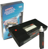 Omega Video Head Cleaner | VHS Cassette Recorder Tape Cleaning System | Wet-Dry | NEW