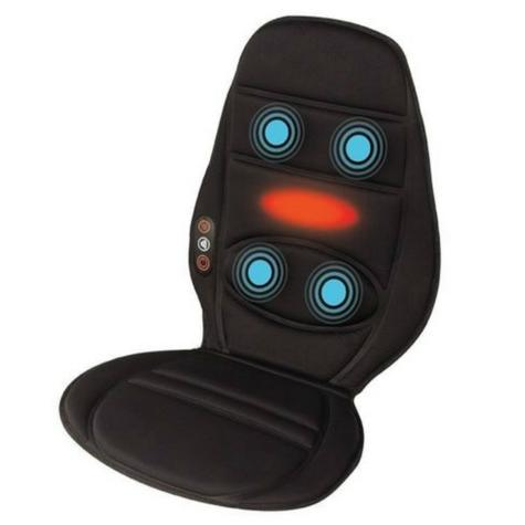 Homedics BKP112HA In Car Seat Massager | Cushion With Heat | Back Muscle Pain Relief Thumbnail 2