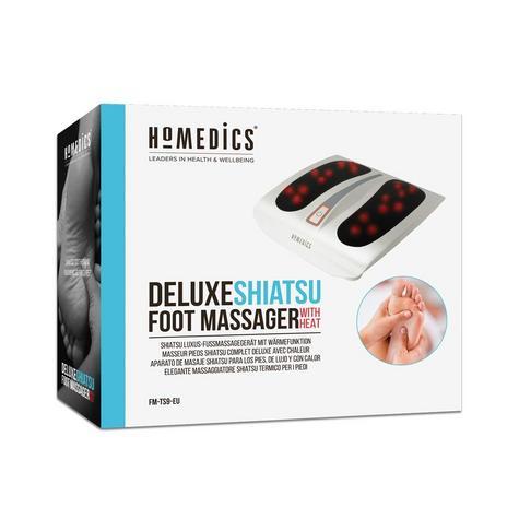 Homedics FM-TS9 Deluxe Shiatsu Foot Massager | 6 Rotating Nodes + 18 Massage Heads Thumbnail 8