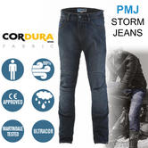 PMJ Storm Motorcycle Mens Casual fit Jeans MID|Windproof & Waterproof|4 Seasons Pant