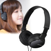 Sony Lightweight Overhead Headphones | In-Line Control & Mic | 12Hz to 22kHz | Black