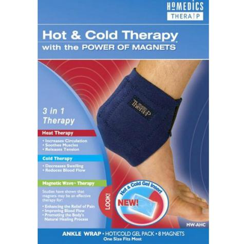 Homedics MW-AHC-0EU Hot & Cold Ankle Wrap | Foot Guard Heating Magnetic Therapy Thumbnail 4
