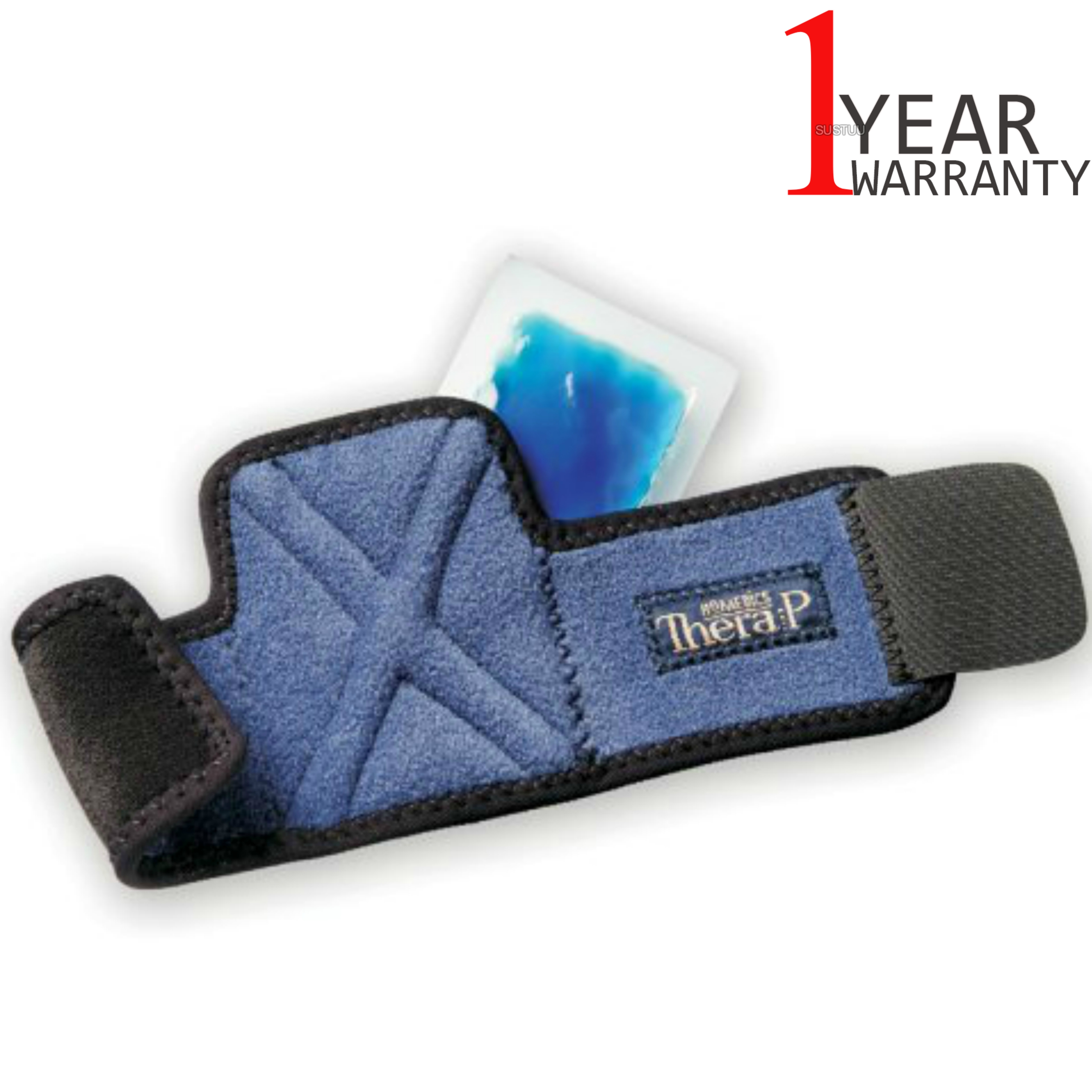Homedics MW-WHC Magnetic Hot & Cold Therapy Wrist Wrap | Lightweight Design | Blue