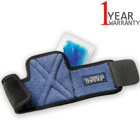 Homedics MW-WHC Magnetic Hot & Cold Therapy Wrist Wrap | Lightweight Design | Blue Thumbnail 1