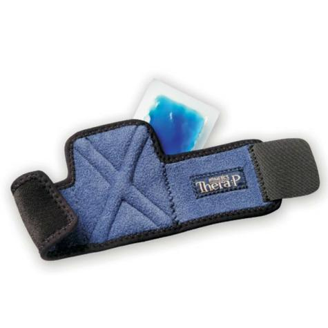 Homedics MW-WHC Magnetic Hot & Cold Therapy Wrist Wrap | Lightweight Design | Blue Thumbnail 2