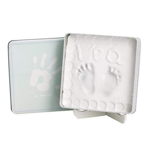 Baby Art Magic Box Ocean?Baby/Kids Hand/Foot Round Print?Baby Shower Gift Kit? Thumbnail 3