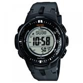 Casio Pro Trek Triple Sensor Men's Digital Automatic Display Tough Solar Watch PRW-3000-1ER