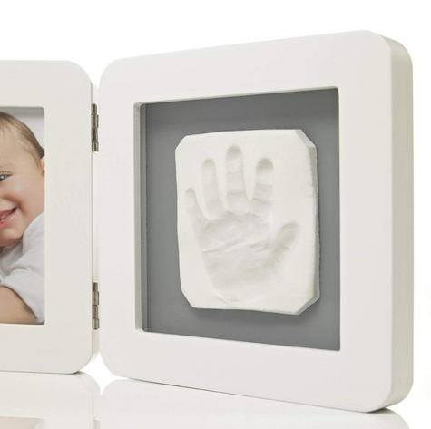 Baby Art My Baby Kid's Little Hand / Foot Print Touch Photo Frame|0-3y|White| Thumbnail 4