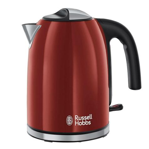 Russell Hobbs 20412 Colour Plus Kettle | 70% Energy Saving | 3000 W | 1.7 L | 360* | Red Thumbnail 2