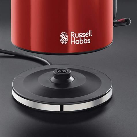Russell Hobbs 20412 Colour Plus Kettle | 70% Energy Saving | 3000 W | 1.7 L | 360* | Red Thumbnail 3