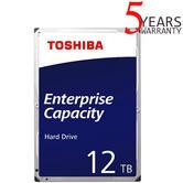 "Toshiba 12TB Enterprise 3.5"" Internal Hard Drive | MG Series | SATA 6Gbit/s | 7200RPM"