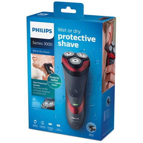 Philips 3000Series Wet & Dry Men?s Electric Shaver | Pop-up Trimmer | Waterproof | NEW Thumbnail 8