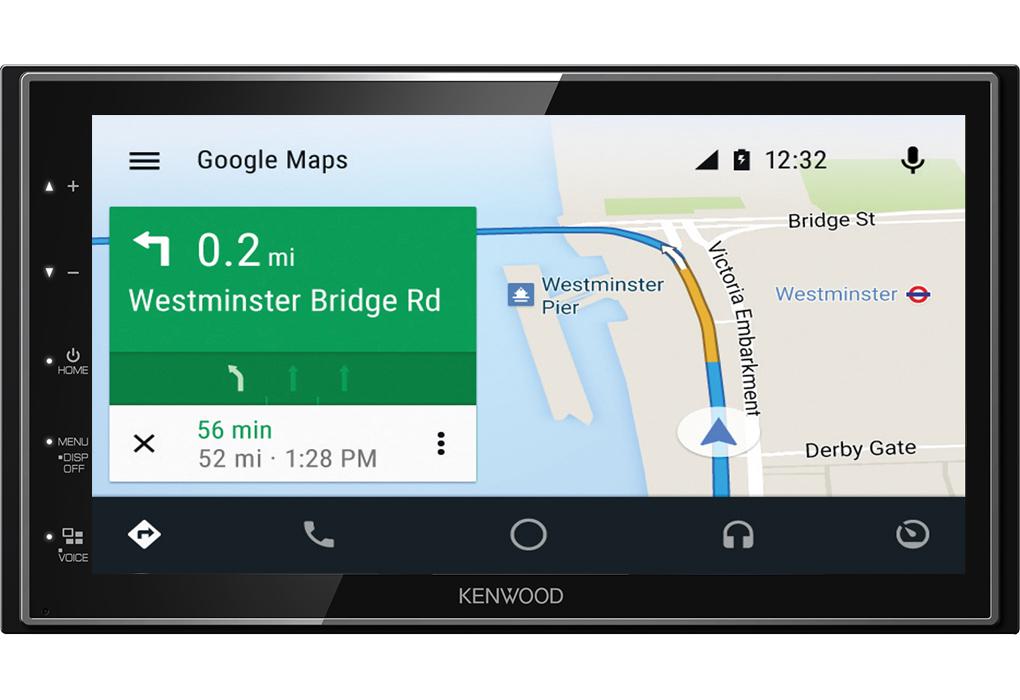 Kenwood Car Stereo | 2-Din Digital Media Receiver | DAB+ Radio | 6 8? |  Bluetooth | Android Auto