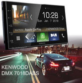 Kenwood Car Stereo | 2-Din Digital Media Receiver | DAB+ Radio | 6.8? | Bluetooth | Android Auto