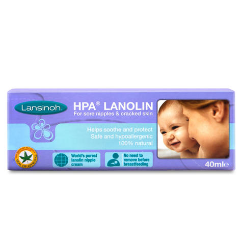Lansinoh Lanolin Natural Cream|for Sore Nipples & Cracked Skin|BPA-BPS Free|40ml Thumbnail 4