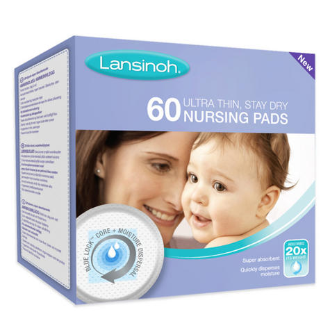 Lansinoh Disposable Nursing Pads|for Maternity Breastfeeding Mothers|Pack Of 60| Thumbnail 4