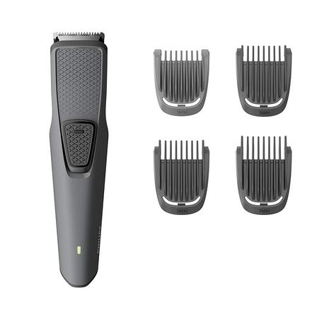 Philips Series 1000 Cordless Beard & Stubble Trimmer | 4 Combs | USB Charging | Black Thumbnail 2