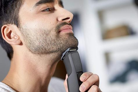 Philips Series 1000 Cordless Beard & Stubble Trimmer | 4 Combs | USB Charging | Black Thumbnail 5