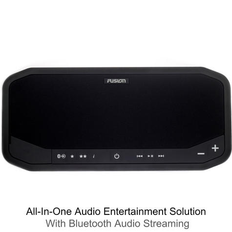Fusion PS-A302B Marine Panel Stereo|AM/FM/BT/USB/Aux/LineOut|140W 10A|IP65|Black Thumbnail 2