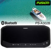 Fusion PS-A302B Marine Panel Stereo|AM/FM/BT/USB/Aux/LineOut|140W 10A|IP65|Black